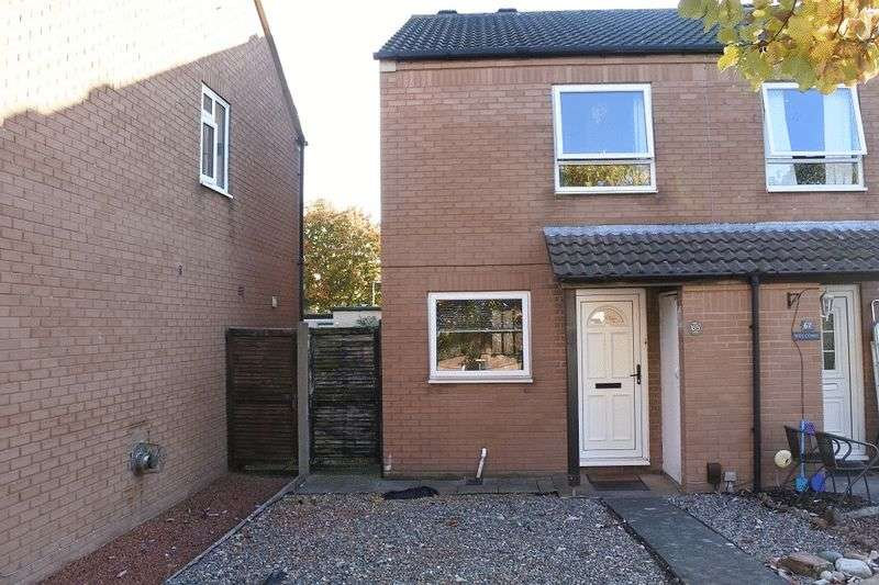 2 Bedrooms Semi Detached House for sale in Gosling Drive, Carlisle