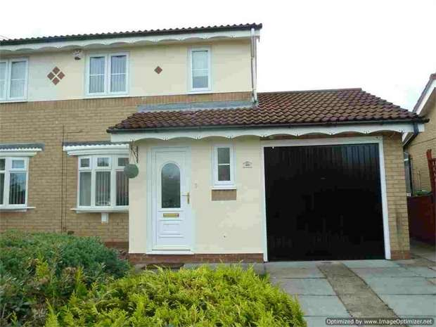 3 Bedrooms Semi Detached House for sale in Calf Close Drive, Jarrow, Tyne and Wear