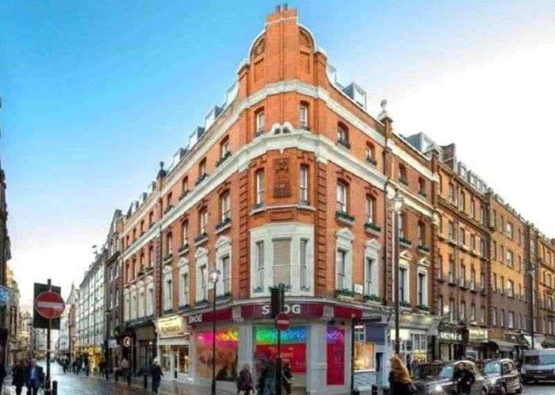 1 Bedroom Flat for sale in 53 Rupert St, Soho, Westminster, W1D