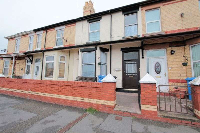 4 Bedrooms Terraced House for sale in Wellington Road, Rhyl