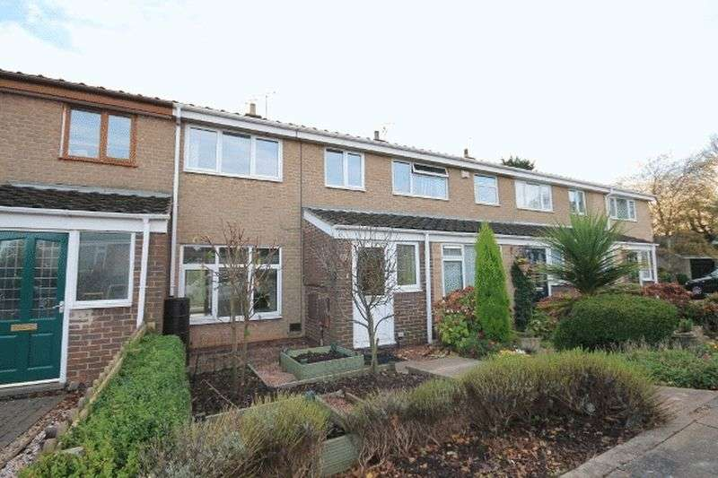 3 Bedrooms Terraced House for sale in WILLOW CLOSE, DARLEY ABBEY