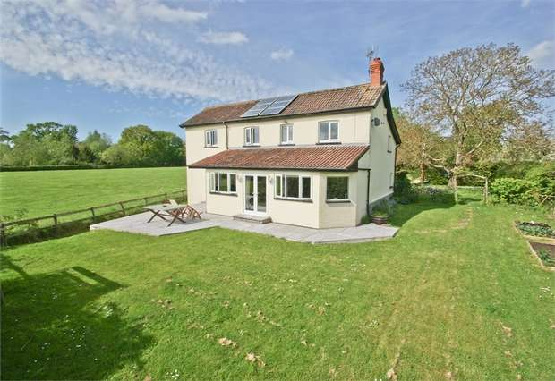 4 Bedrooms Detached House for sale in PARBROOK, Glastonbury, Somerset