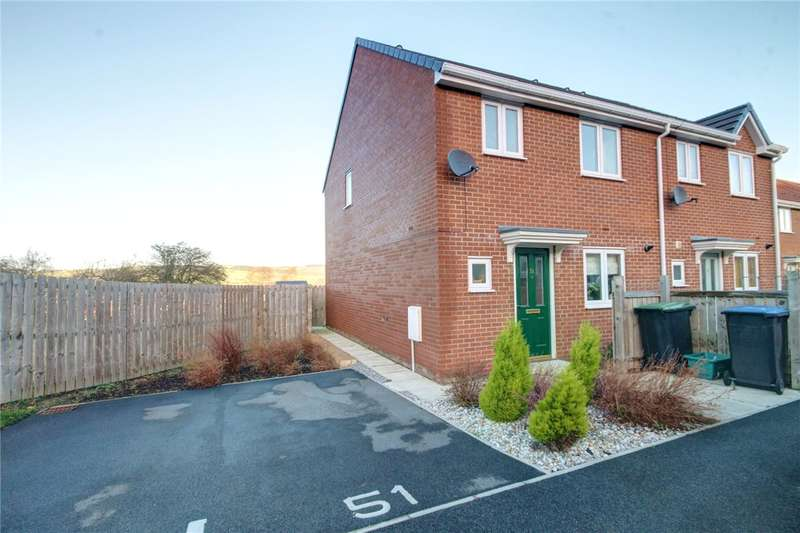 3 Bedrooms End Of Terrace House for sale in Hilltop View, Langley Park, Durham, DH7