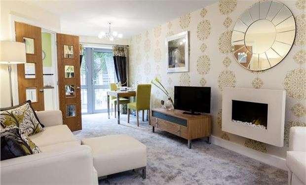 2 Bedrooms Flat for sale in Kingston Road, London, SW20 8DA