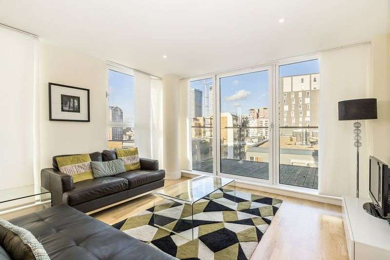 2 Bedrooms Flat for sale in Two bed flat in the highly desirable development, Denison House, E14 (South Quay), 634,999