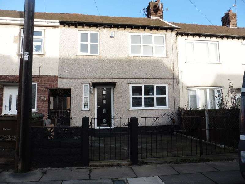 3 Bedrooms Terraced House for sale in Monfa Road, Bootle