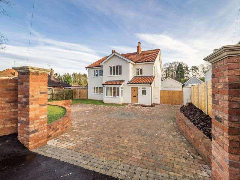 4 Bedrooms Detached House for sale in Longwater Lane, Norwich