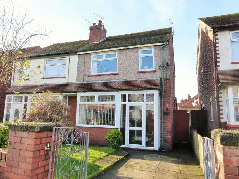 3 Bedrooms Semi Detached House for sale in Russell Road, High Park, Southport
