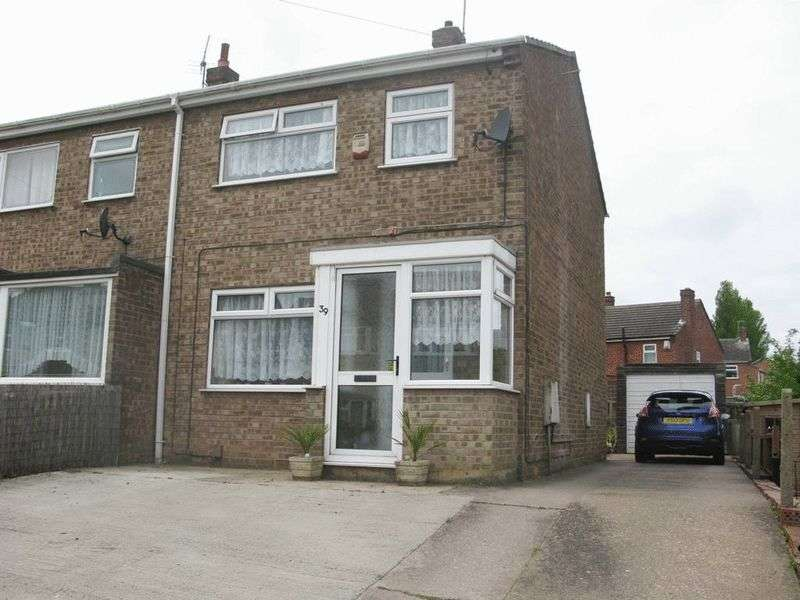 3 Bedrooms Semi Detached House for sale in Winthorpe Street, Mansfield