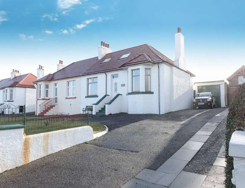 3 Bedrooms Semi Detached Bungalow for sale in Mharjalich Cairnryan Road, Stranraer, DG9
