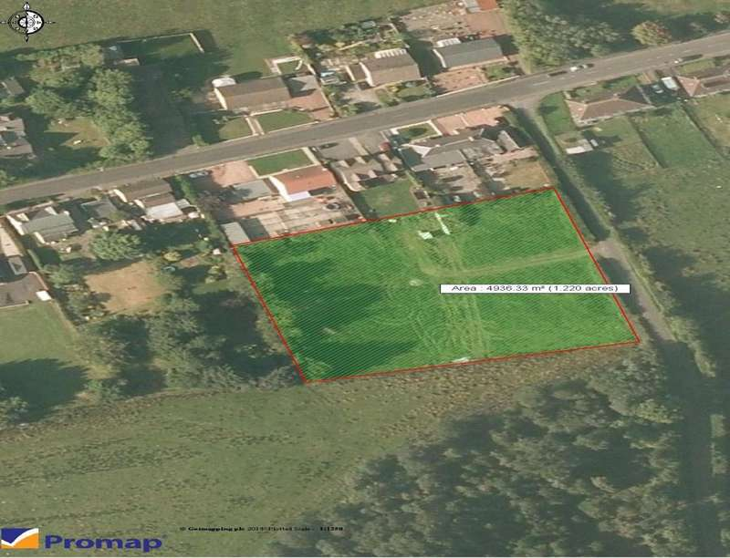 Land Commercial for sale in Land To The South West Of Blinkbonny Terrace, Slamannan, Falkirk, FK1