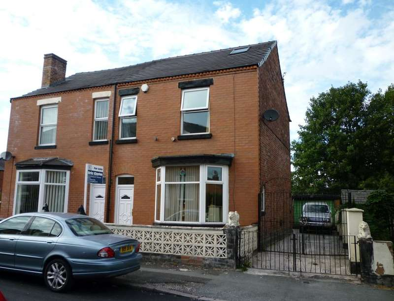 4 Bedrooms Semi Detached House for sale in Trafford Street, Farnworth, Bolton, BL4