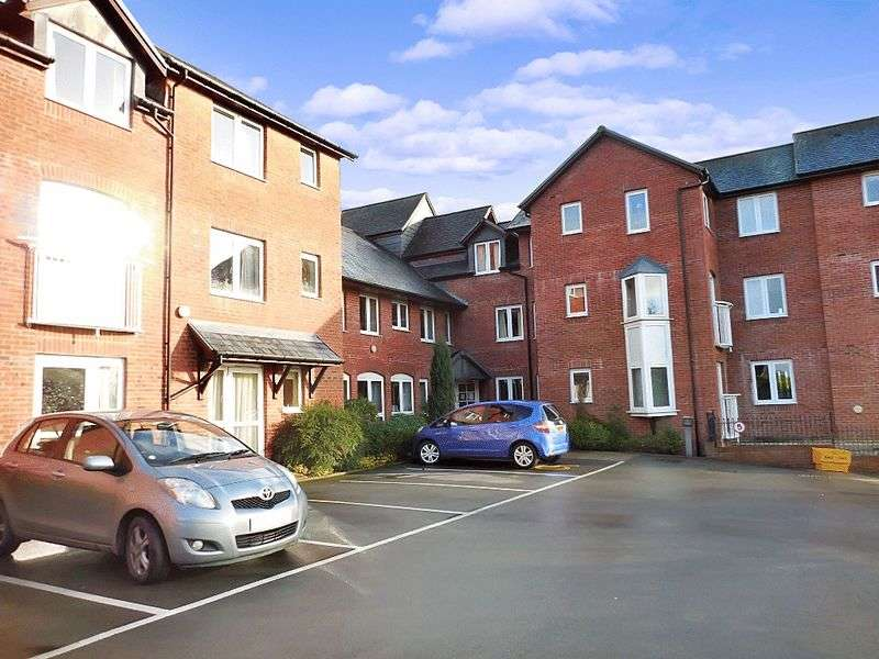 1 Bedroom Retirement Property for sale in Burgess Court, Ludlow, SY8 1QW