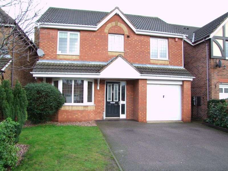 4 Bedrooms Detached House for sale in Golding Crescent, Burton