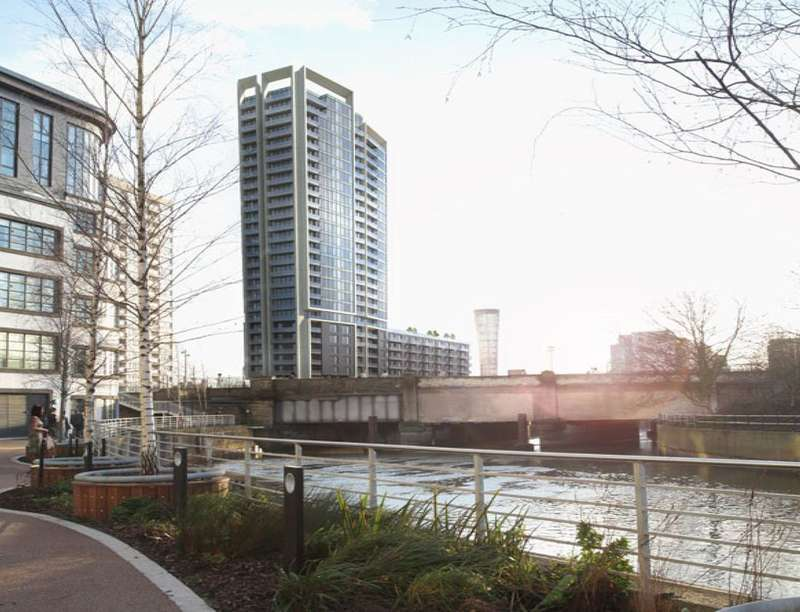 2 Bedrooms Flat for sale in Stratford Riverside High Street, London, E15