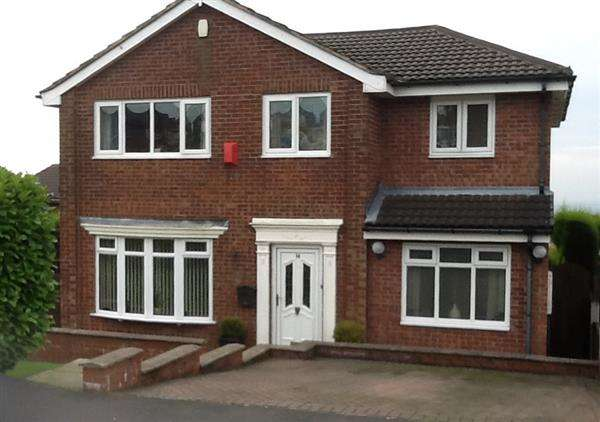 4 Bedrooms Detached House for sale in Clipsley Crescent, Moorside