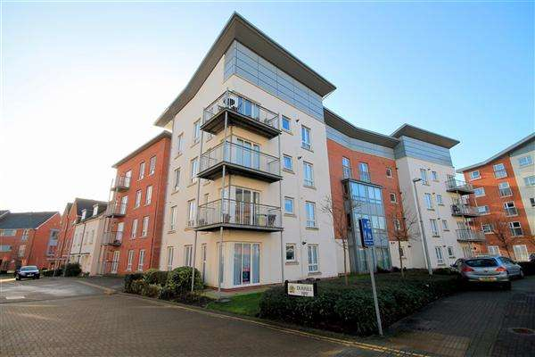 1 Bedroom Flat for sale in Durrell Way, Poole Quay, Poole