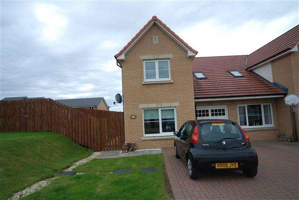 3 Bedrooms Semi Detached House for sale in Allan Gardens, Saltcoats