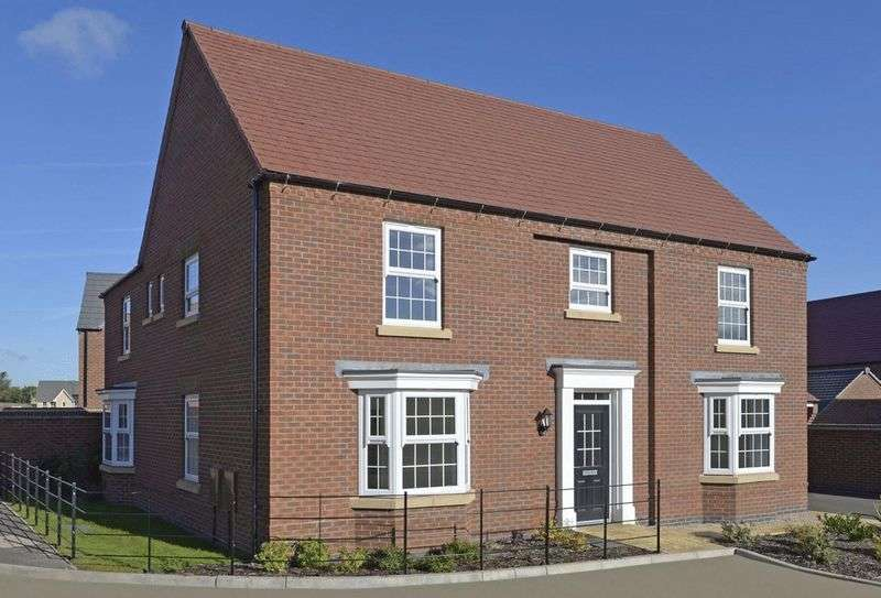 5 Bedrooms Detached House for sale in Hilary Bevins Close, Nuneaton