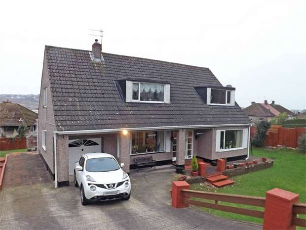 4 Bedrooms Detached Bungalow for sale in Foxhouses Road, Whitehaven, Cumbria