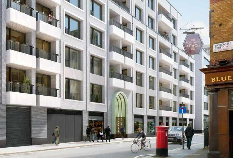 Studio Flat for sale in Rathbone Square, Fitzrovia, W1T