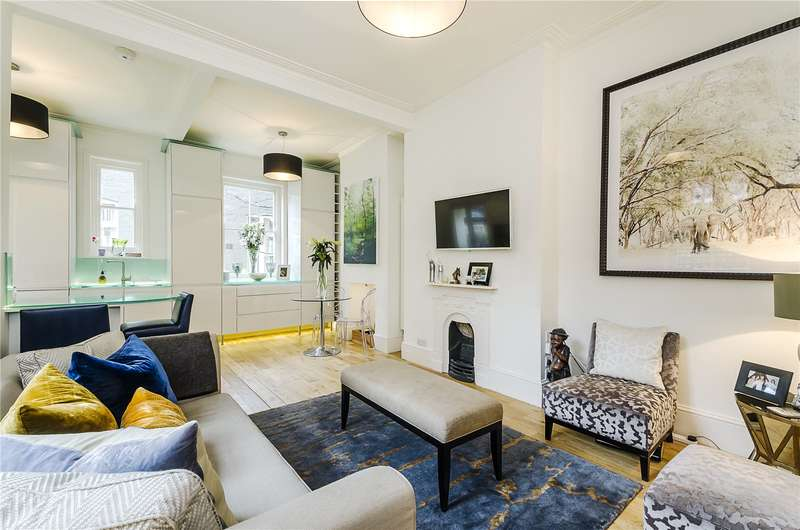 3 Bedrooms Flat for sale in Stanley Mansions, Park Walk, London, SW10