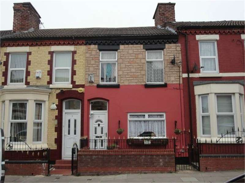 2 Bedrooms Terraced House for sale in Dovey Street, Liverpool L8