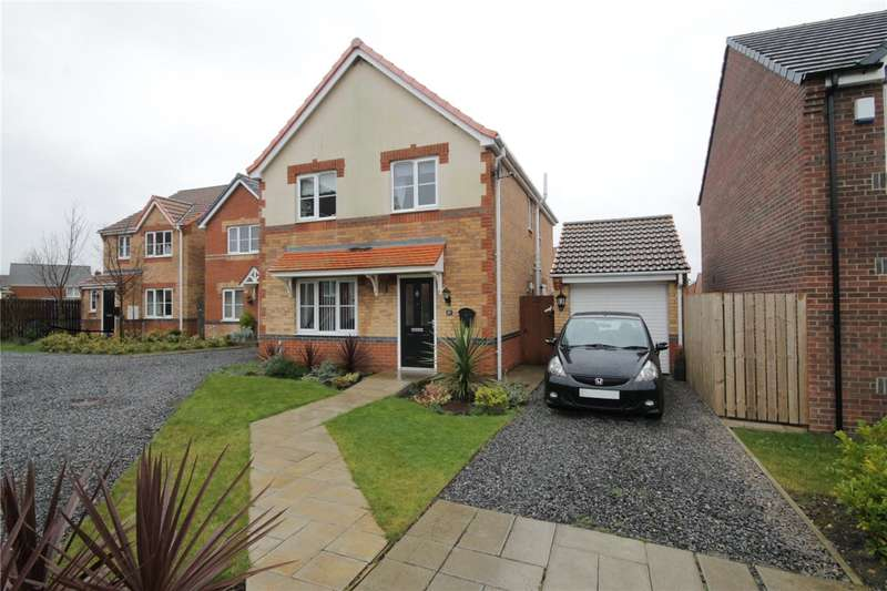 4 Bedrooms Detached House for sale in Balmoral Drive, Catchgate, Stanley, DH9