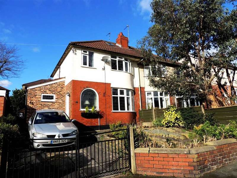 3 Bedrooms Property for sale in The Crescent, Bredbury, Stockport