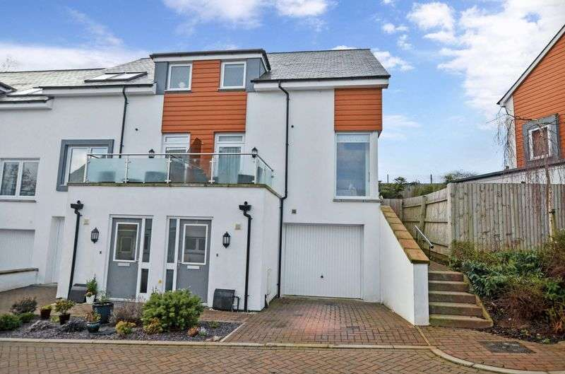 3 Bedrooms Semi Detached House for sale in Moorhaven Close, Torquay