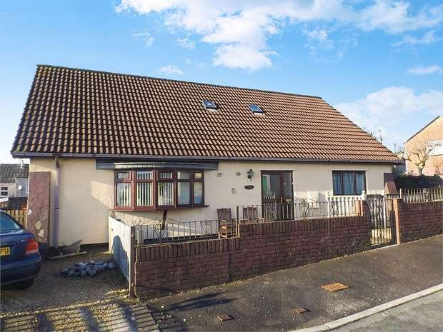 4 Bedrooms Detached Bungalow for sale in The Heathlands, Gilfach Goch, Porth, Mid Glamorgan