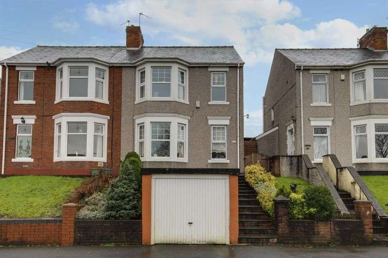 3 Bedrooms Semi Detached House for sale in St. Julians Road, Newport