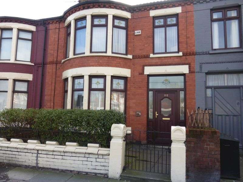 4 Bedrooms Terraced House for sale in Queens Drive, Liverpool