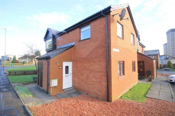 2 Bedrooms Flat for sale in Calderview, Motherwell