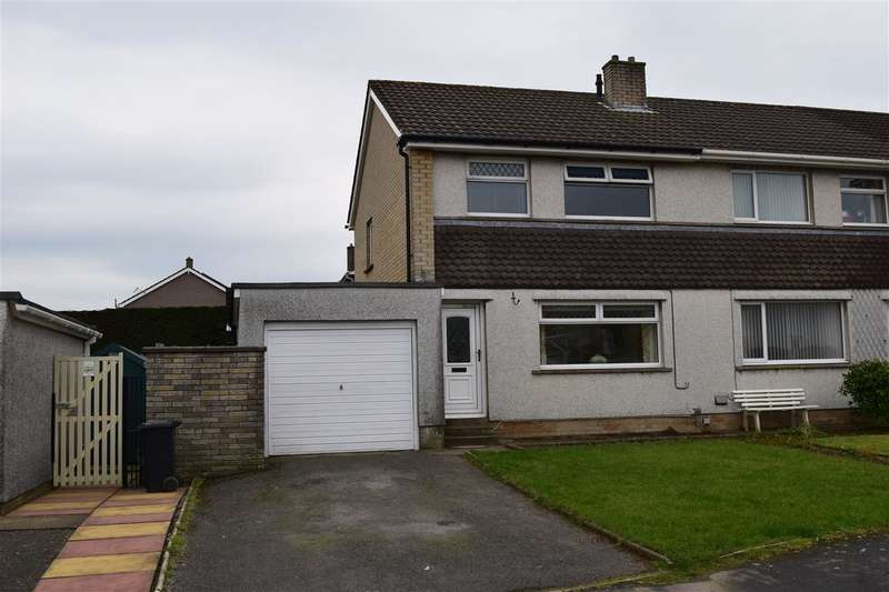 3 Bedrooms Semi Detached House for sale in Newlands Park, Dearham, Maryport