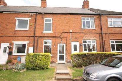 2 Bedrooms Terraced House for sale in Church Road, Stanfree, Chesterfield, Derbyshire