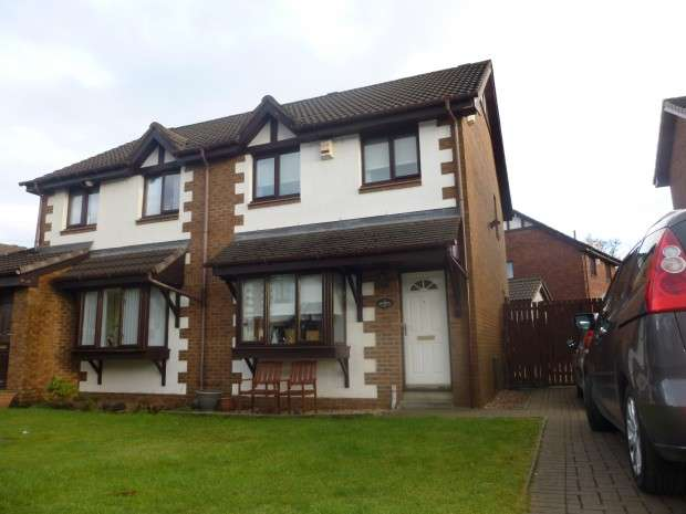 3 Bedrooms Semi Detached House for sale in Ardfern Road, Moffat Mills, Airdrie, ML6