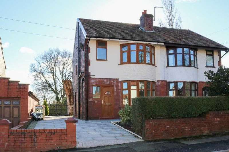 3 Bedrooms Semi Detached House for sale in Danesbury Road, Bolton
