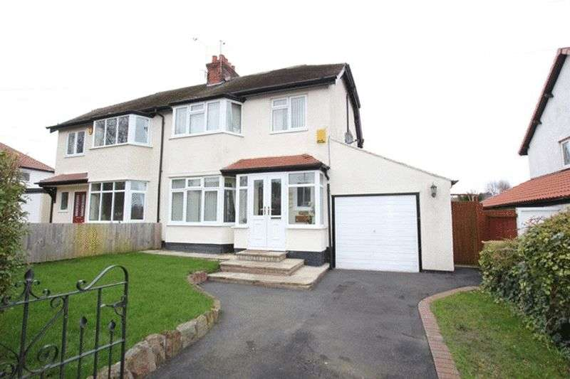 3 Bedrooms Semi Detached House for sale in Irby Road, Heswall, Wirral