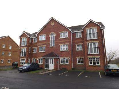 2 Bedrooms Flat for sale in Meadow Field, Hindley Green, Wigan, Greater Manchester, WN2