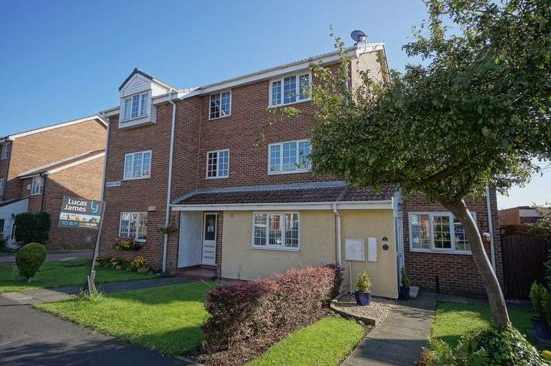 1 Bedroom Flat for sale in REGENTS COURT, West Moor