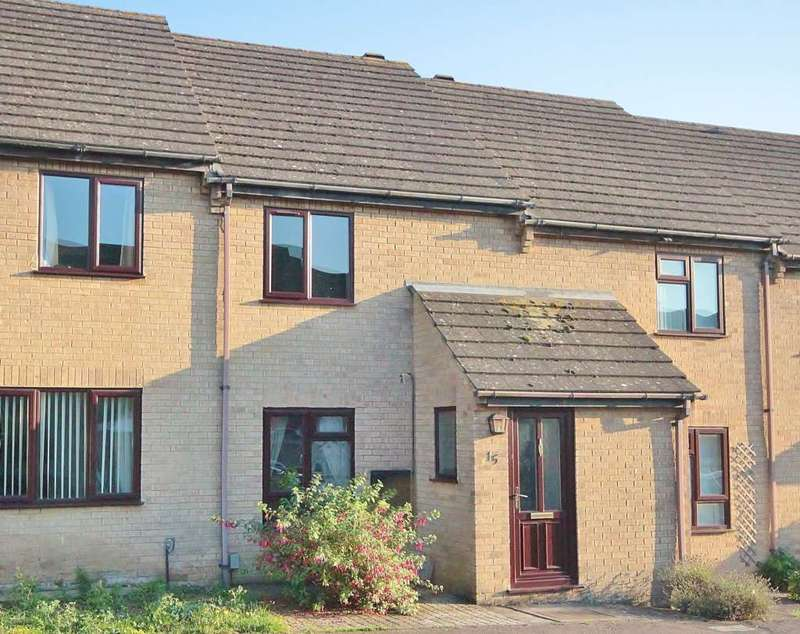 2 Bedrooms Terraced House for sale in Weavers Close, Witney