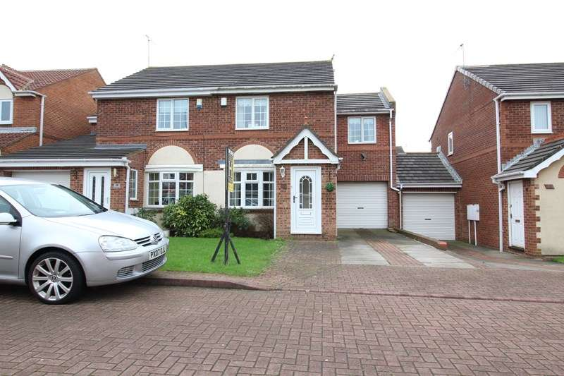 3 Bedrooms Semi Detached House for sale in Beaconglade, South Shields