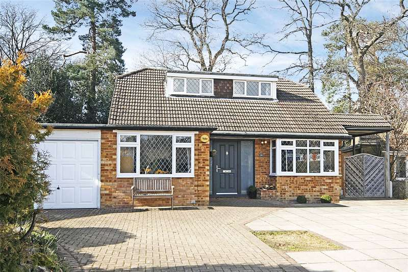 4 Bedrooms Detached House for sale in Blackdown Close, Pyrford, Surrey, GU22