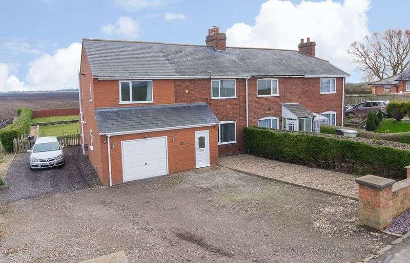 4 Bedrooms Semi Detached House for sale in Station Road, Stickney