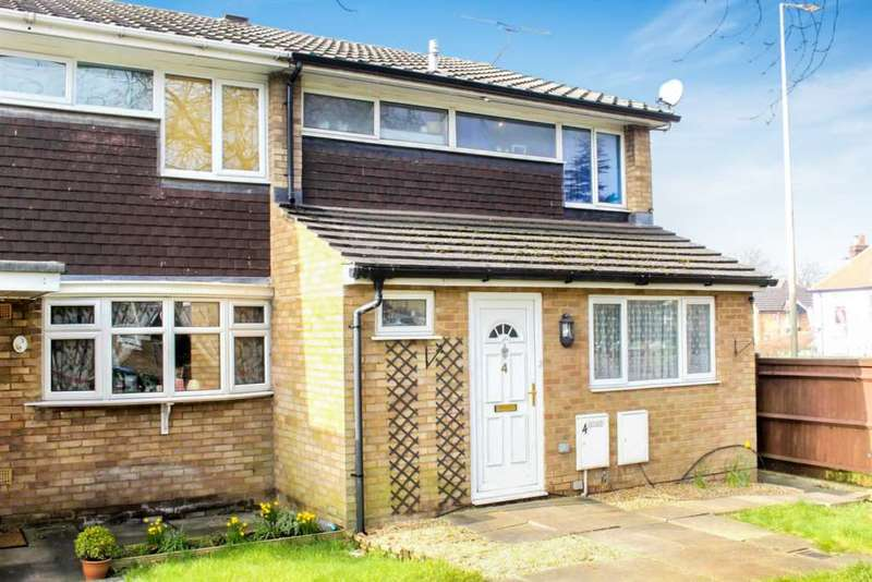 3 Bedrooms End Of Terrace House for sale in EXTENDED 3 BEDROOM END TERRACE IN Haddon Close, LEVERSTOCK GREEN