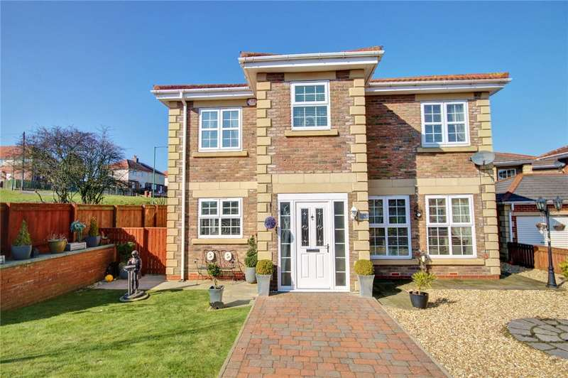 4 Bedrooms Detached House for sale in Kingfisher Close, Esh Winning, Co Durham, DH7