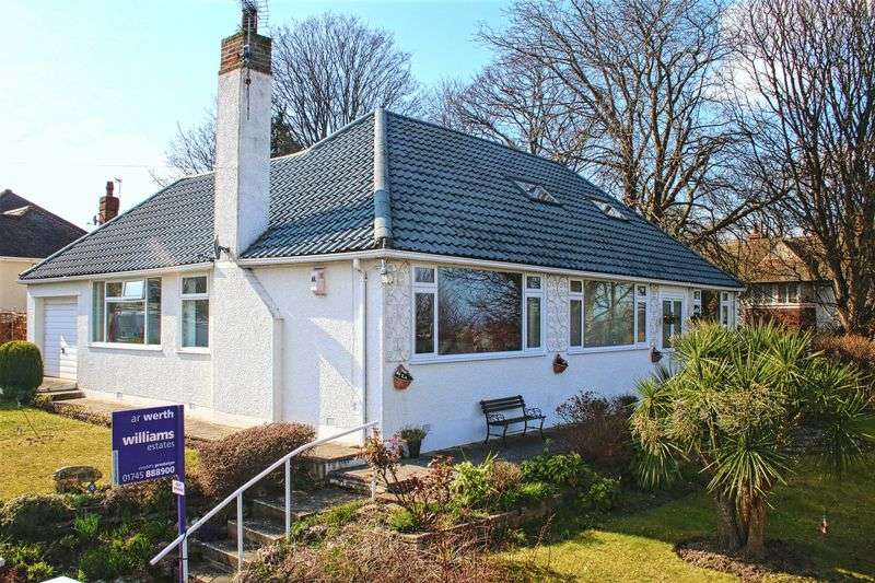 3 Bedrooms Detached Bungalow for sale in Norman Drive, Prestatyn