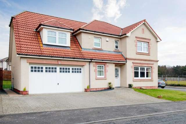 5 Bedrooms Detached House for sale in Lochtyview Way, Thornton, Kirkcaldy, Fife, KY1 4BL