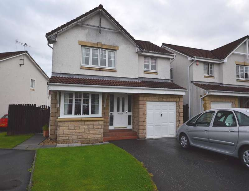 4 Bedrooms Detached House for sale in Woodlea Gardens, Bonnybridge, FK4